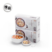 convenient delicious dried mushroom soup