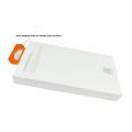 Boîte d'emballage en plastique de cas de téléphone portable personnalisé