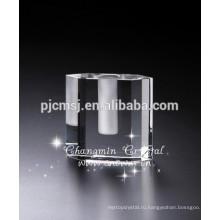 Топ-продажи дома декоративные Кристалл стеклянная Ваза для свадьбы Центральным/отели