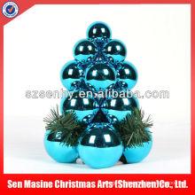 Plastique Grande usine de décoration de jardin en bois de Noël