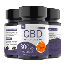 In Stock Healthcare Product Immune & Anti-Fatigue 100% Vegan Hemp Extract CBD Softgels