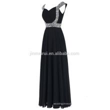Sweetheart Spaghetti Strap Evening Gowns Long 2016 Hot Sale Chiffon Floor Length Prom Dresses Formal Occasions Vestido De Festa