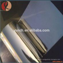 Astm B386 Molybdenum Products 99.95% High Purity Molybdenum foil Piercing Mandrel