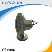 Lámpara subacuática llevada RGB del alto brillo 12v / 24v de la lámpara subacuática de la lámpara