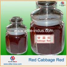 Pó vermelho do repolho vermelho da coloração do alimento