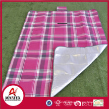 100% acrylique couverture de pique-nique imperméable facile-portant