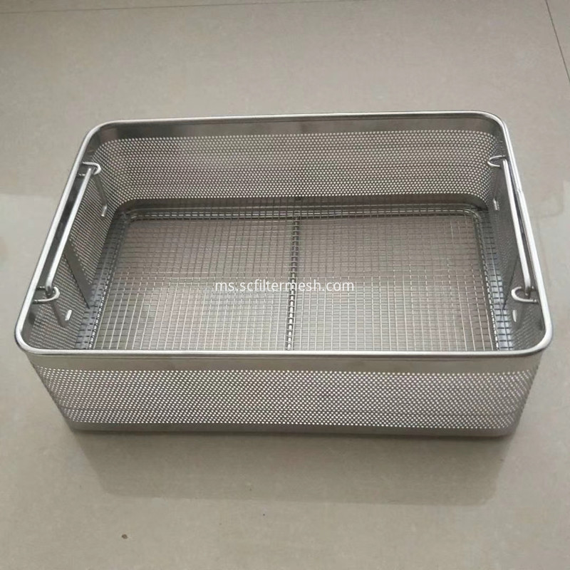 stainless steel basket