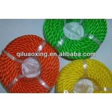 cuerda de giro de ensilaje verde / amarillo / rojo para la agricultura