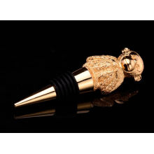 Metal Wine Bottle Stopper with Animal Shapes (GZHY-BS-004)