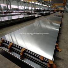Plaque composite polymère aluminium 1050 avec acier inoxydable