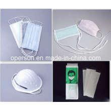 Suave y cómoda máscara facial no tejida desechable