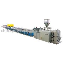 PVC-Profil-Extrusionslinie