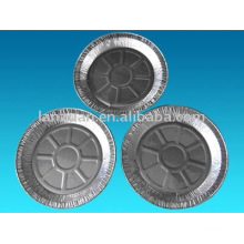 envase de aluminio redondo