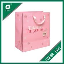 Kundenspezifische Logo-Farbdruckpapier-Tasche