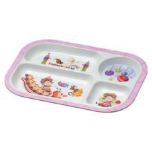 Melamine Kid′s Tableware Divided Plate/Profession Houseware(pH824