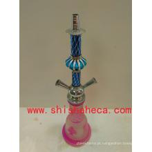 Tubulação de fumo cor-de-rosa de alta qualidade de Nargile Shisha Hookah