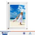 Kundenspezifischer Acryl-Wandhalterung Magnetischer Fotorahmen