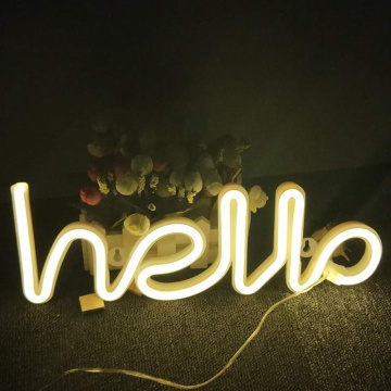 MANUALIDADES CON LED NEON SIGN