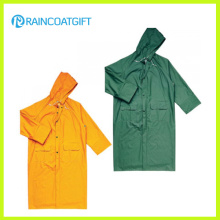 Langlebige wasserdichte Plastik Herren Regenbekleidung