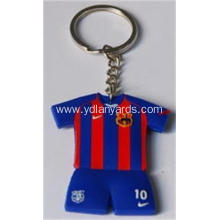 Soft PVC Key Chain Cartoon Shape With Logo