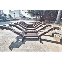 Hot DIP Galvanized Painted Conveyor Idler Frame Steel Idler Frame