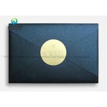 Attractive Gold Foiled Black Wedding Invitation Card Packaging Wedding Envelopes