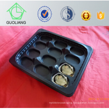 New Design Hot Selling Australia Market Popular Wholesale Food Packaging Oyster Packaging Plastic Round Trays for Fresh Seafood Packing Industry