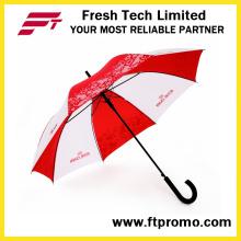 23 * 8 k Auto guarda-chuva aberto da reta com logotipo