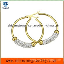 Shineme Jewelry Fashion Women Gold Plating Earring (ERS7011)