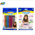 hot-sell fashionable economical magic crayon set for kid/double ended dual color crayon