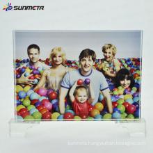 High quality cheap price sublimation crystal photo frame BSJ-28