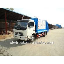 Camión de basura 6000L, camión compactador de basura, camión de compresión de basura