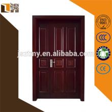 Porta de madeira contínua moderna personalizada favorável ao meio ambiente