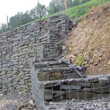 Boîtier en Gabion soudé galvanisé à chaud