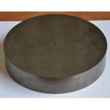 Placa circular de 150mm Diamter com furo do carboneto cimentado