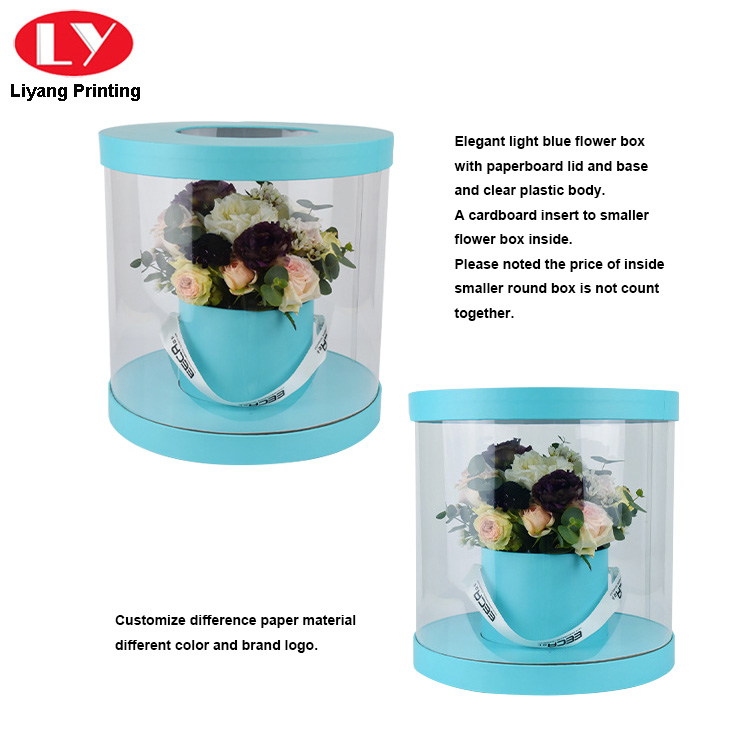 Flower Box Light Blue