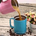 Vaso de acero inoxidable al por mayor 10 oz con Mango taza de café Thermos Cup Amazon Top Seller 2018