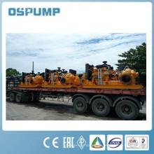 Doppelräder Dieselmotor Entwässerung zwei Saugpumpen und / oder Dieselmotor Wasserpumpe Set