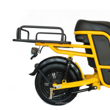 48V 400W Electric Scooter for Food Delivery Cargo Ebike Cargo Scooter