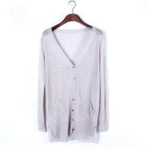 15PKLS12 2016 echo friendly 100% pure lady Spring light linen shirts