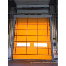 High speed stacking door