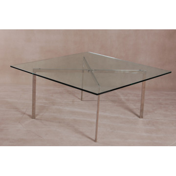 Tampo de vidro temperado Barcelona Coffee Table