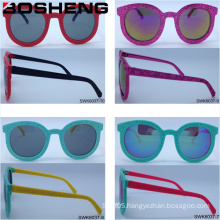 Women Men Unisex Round Shape Fashion Eye Sun Glasses