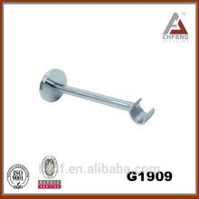 G1909 decoration curtain rod wall brackets accessories, chrome fixed single brackets