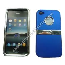 Cromo con soporte para el iPhone 4s