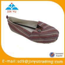 Deslizamiento plano en el zapato