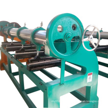 Easy operation manual four link rotary slotting slitting machine