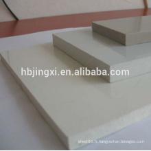 Feuille blanche industrielle de pp, feuille blanche de pp, feuille industrielle de pp