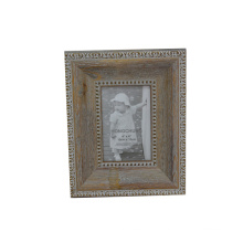 Happy Birthday Photo Frame Made of Gesso