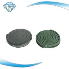 La meilleure bobine répulsive aux moustiques dans la couleur verte